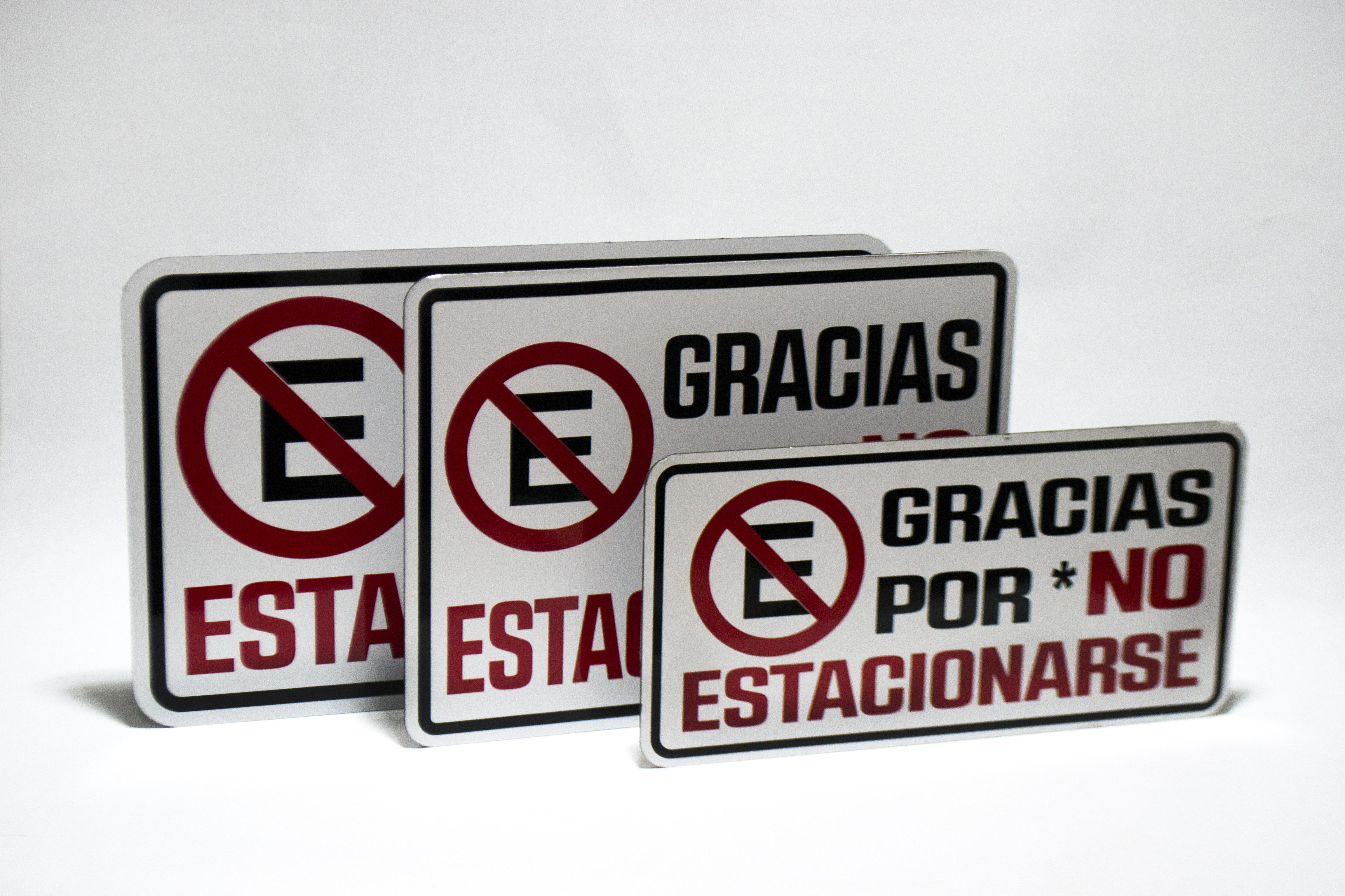 Señalamientos_ no estacionarse