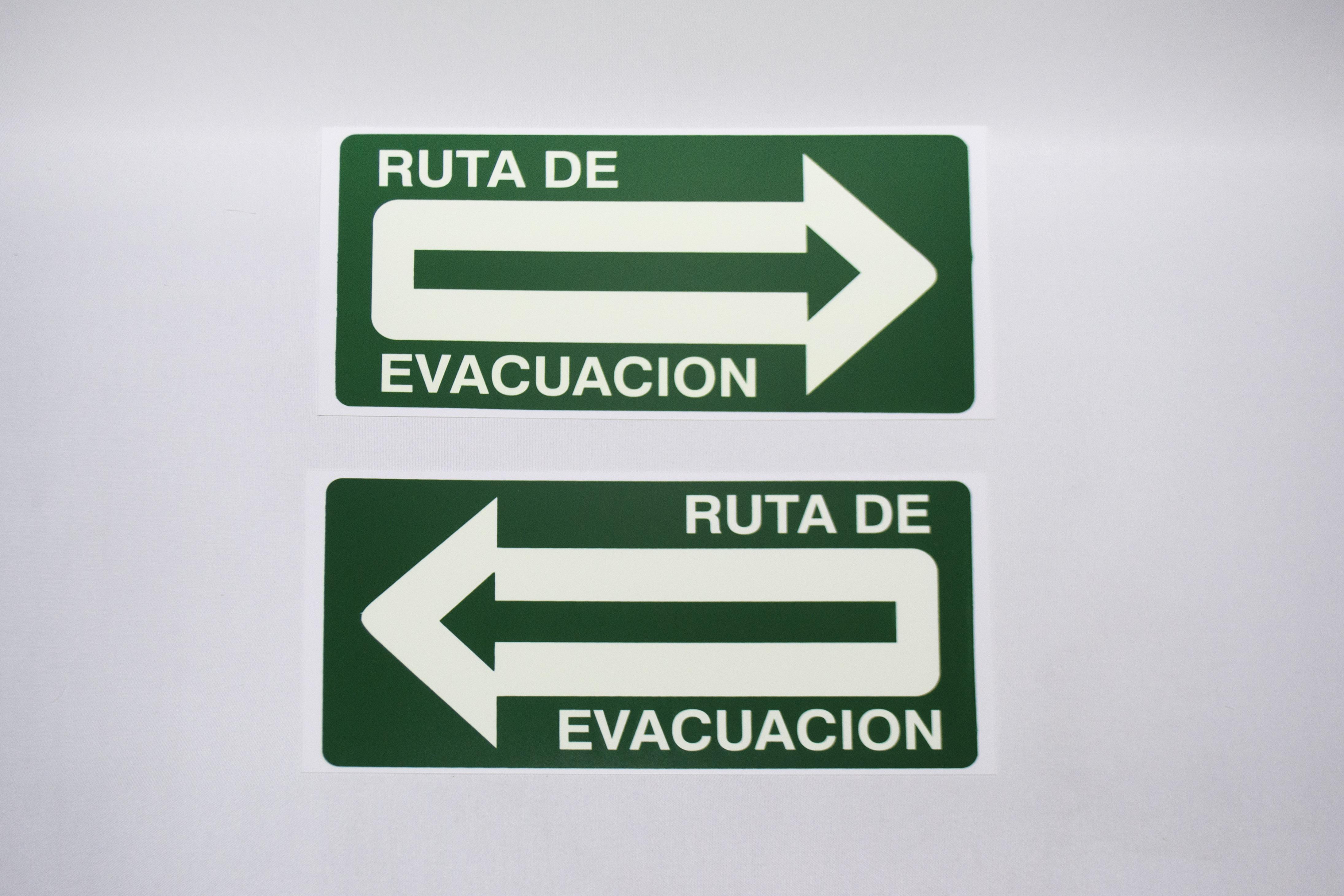 Señalamientos_ rutas de evacuacion