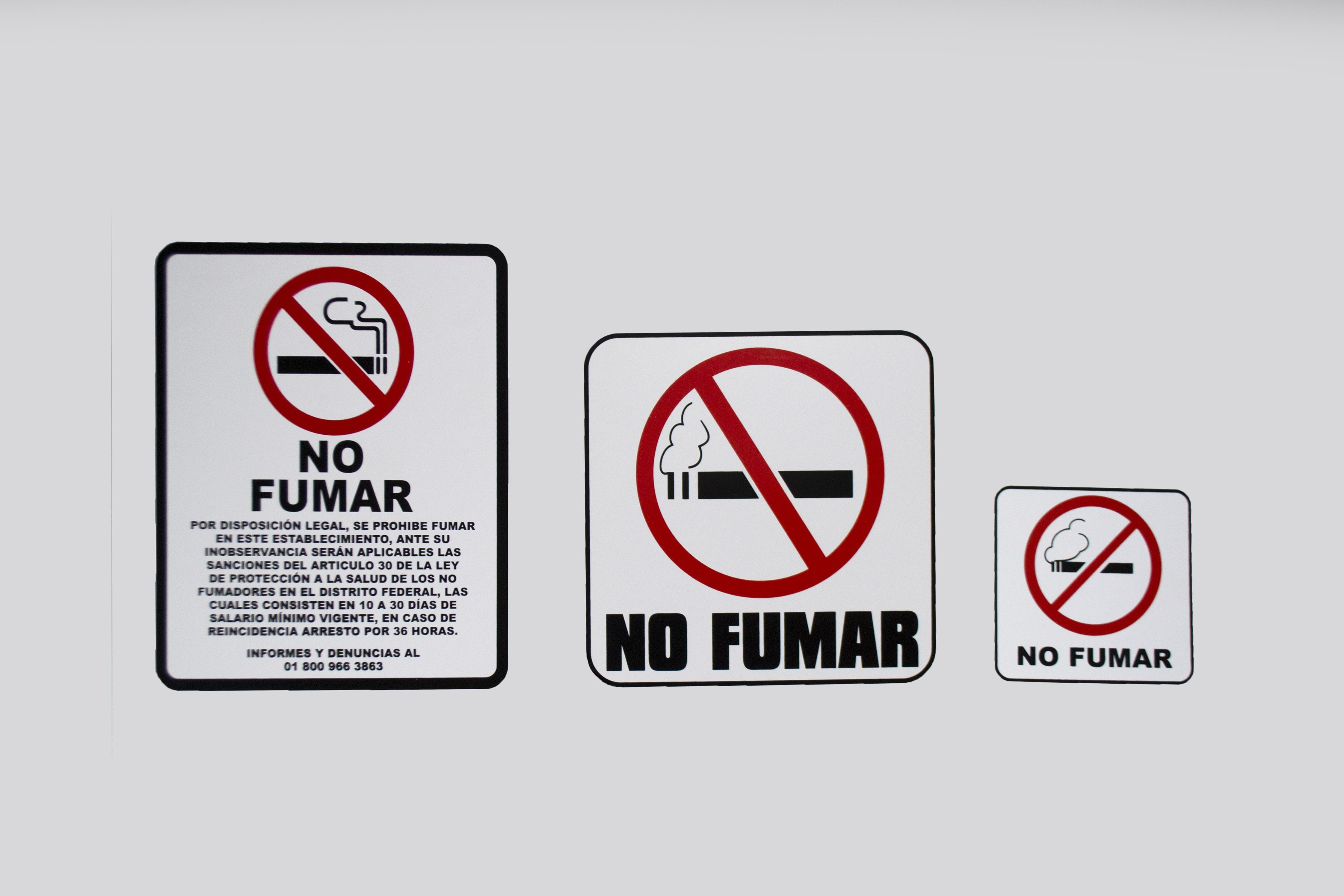 Señalamientos_no fumar